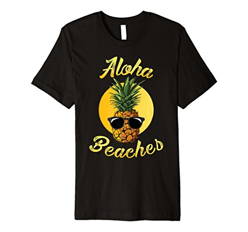 Ananas Sonnenbrille Aloha Strände Hawaii-Hawaiian T-Shirt