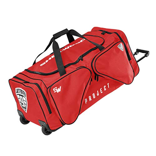 Sherwood True Touch T90 WheelBag S, Farbe:rot