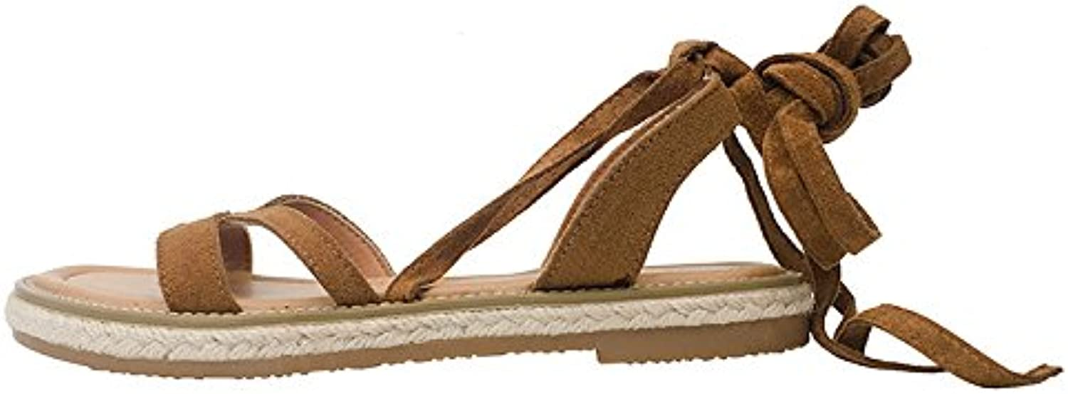 Rome student flat beach Chaussure s   round head and flat student bottomed Chaussure sB07CLKJNJ9Parent d97b81