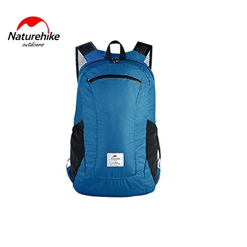 (Nowakk Ultraleicht Faltbare Packable Kleine Wandern Daypack Rucksack für Frauen Männer Klettern Camping Backpacking Radfahren Fahrrad Reise)