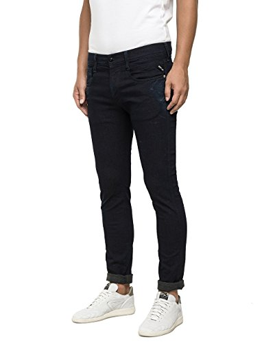 Replay Herren Jeanshose Blau (Dark Blue 007) ...
