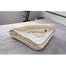 Merino Wool Baby Pura Lana Protector de colchón 70 x 140 cm de Caro Cachemira 70