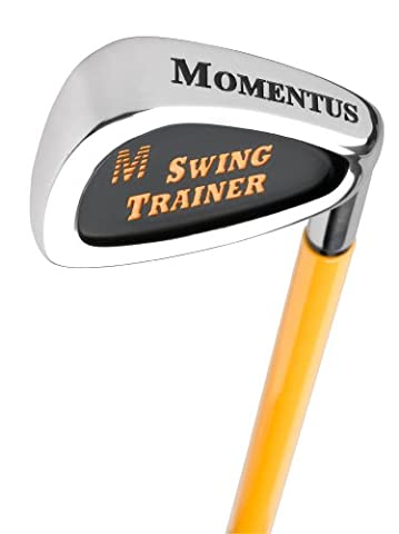Momentus Signature Swing Trainer Iron with Training Grip (Right Hand)