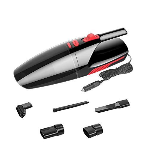 SHENGY Akku-Handheld Mit leichtem Vakuum, wiederaufladbare Hand Vac Powerful Cyclonic Suction Wet Dry Vacuum Cleaner für Home Pet Hair Staubputz-Reinigung,Black,Wired (Besten Wet Vac)