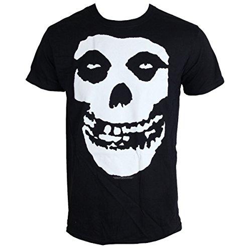 Collectors Mine Herren T-Shirt Misfits-Skull Schwarz