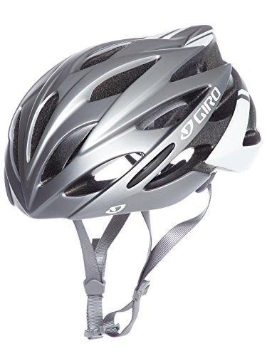 Giro Savant Rennrad Fahrrad Helm titanium/weiß matt 2019: Größe: L (59-63cm)