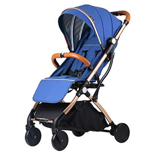 GDLXL Buggy Kinderwagen - extra Leichter Komfort Buggy mit Liegeposition und Einhand-Faltmechanismus, klein zusammenklappbar,R