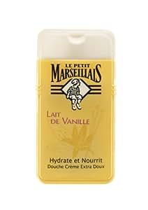 Le Petit Marseillais - Douche Crème Extra Doux au Lait de Vanille - 250 ml - Lot de 2