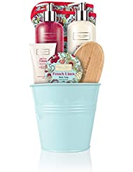 Hiver à Venise Français Linge Simple Pot - toiletries de luxe infusé aux fruits naturels et extraits plantes emballés...