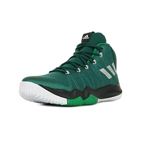 adidas Crazy Hustle Herren-Basketball Turnschuhe/Schuhe-Green-48.67 -