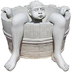 Antikes Wohndesign Springbrunnen Zierbrunnen Wasserspiel Gartenbrunnen Figurenbrunnen