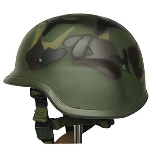 LHY TRAVEL Militärhelm Taktischer Explosionshelm Taktischer Helm Schutz M88 SWAT Militärischer Fan Helm Komfortable Sicherheit Männer Airsoft Comdat Paintball Special Ops Helm-Kollektion,Camouflage