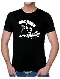 Coole-Fun-T-Shirts Herren T-Shirt GRILL - AUFTRAGSGRILLER - BBQ GRILLSPORT Slimfit
