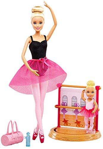 Barbie Quiero Ser Profesora de Ballet, muñeca con accesorios (Mattel...
