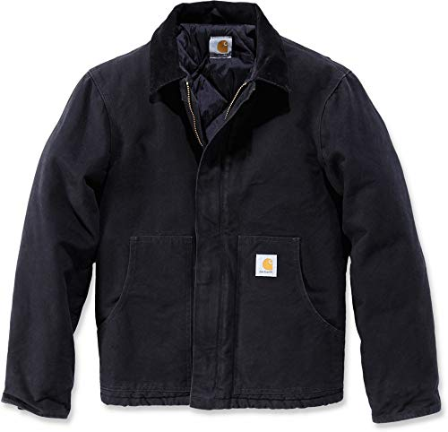 Carhartt EJ022 Sandstone Traditional Jacket L Black