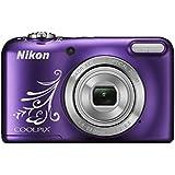 Nikon Coolpix L31 Digitalkamera (16 Megapixel, 5-fach opt. Zoom, 6,7 cm (2,6 Zoll) Display, HD-Video) violett lineart
