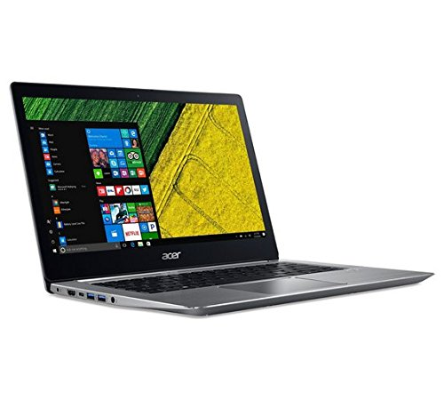 Acer Swift 3 35.56-Inch Notebook - (Silver) (Intel i3-7100U Processor, 8 GB RAM, 128 GB SDD, Windows 10 Home)