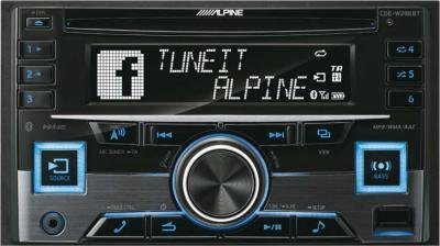Alpine CDE-W296BT Autoradio