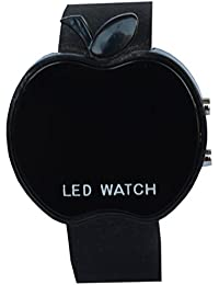 VITREND Black Apple Style Led Watches For Boys And Girls