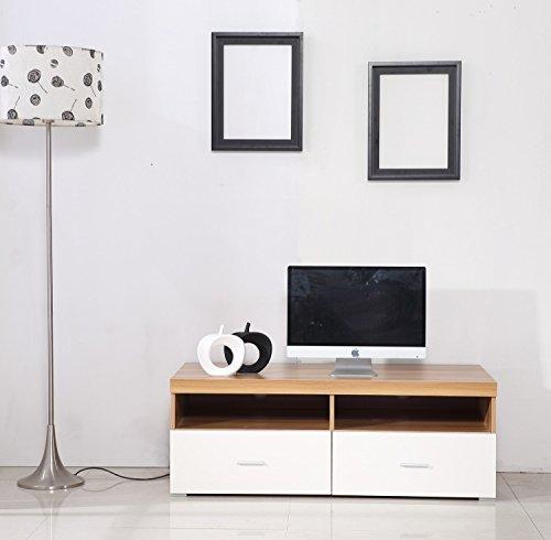 Homcom - Porta TV Moderno Mobile di