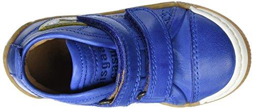 Bisgaard Klettschuhe, Sneakers basses mixte enfant Blau (601-1 Cobalt)