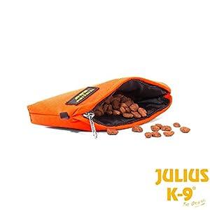 Trousse Tug Julius-K9® Aqua Food Dummy avec fermeture éclair–Trousse Tug portapremi pour chiens, flottant et étanche, idéal pour l'entraînement