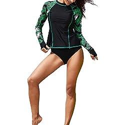 Sunneey Combinaison de plongée pour Femme, XL