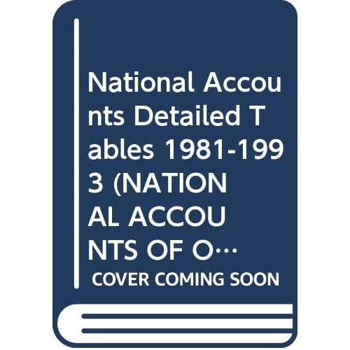 National Accounts, volume 2, 1980-1992