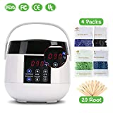 Best Hair Removal Kits - Wax Warmer with LCD Screen for Hard Wax,Brazilian Review