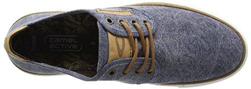camel active - Racket 11, Scarpe da ginnastica Uomo Blu (Blu (Jeans))