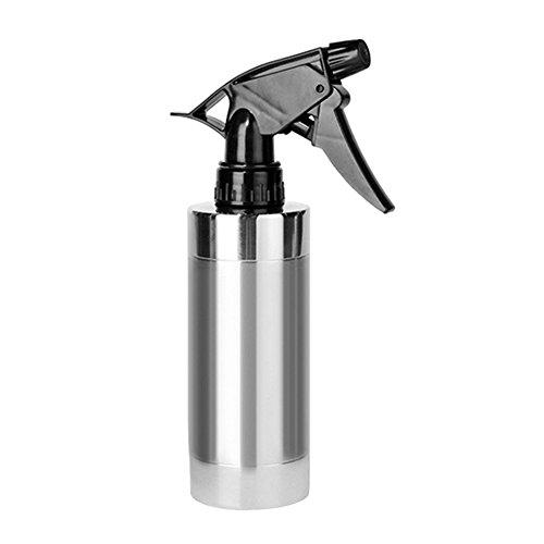 Sprühflasche, ONEGenug 280ml Edelstahl-Handdruck-Gießkanne, Wassersprüherflasche für die Nasspflege, Gießanlagen, Reinigung von Autos und Möbeln