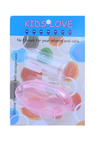 Kids Love Baby Finger Toothbrush with Protective Case