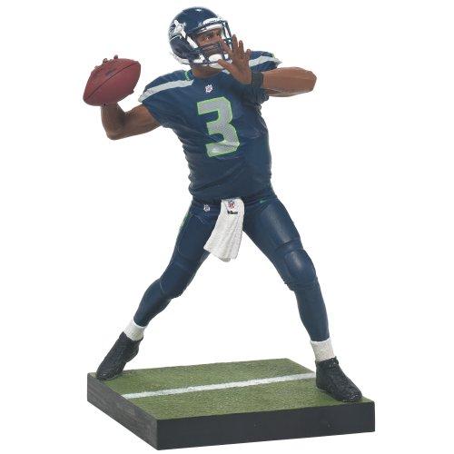 McFarlane NFL Series 33 RUSSELL WILSON - Seattle Seahawks Figur