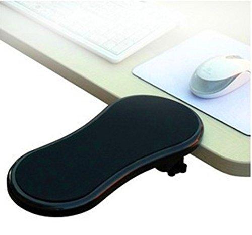 ANKENGS Ergonomique Réglable Ordinateur de Bureau Extender, Ordinateur Accoudoir, repose-poignet tapis de souris pour la maison et le bureau