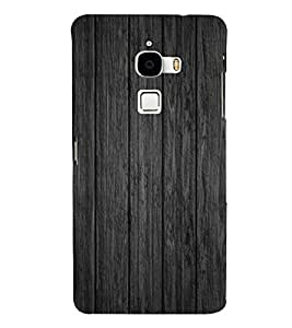 Wooden Pattern 3D Hard Polycarbonate Designer Back Case Cover for LeTv Le Max :: Letv Le Max X900