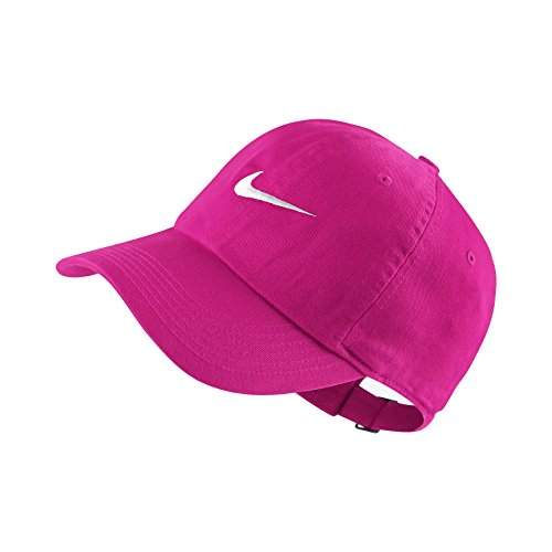 Nike NK 86cap swoosh Niños unidad Gorro, tödliches Rosa/Blanco, One size