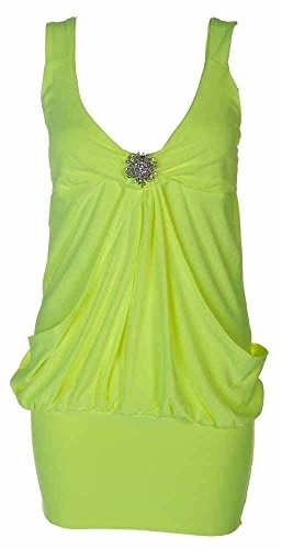 FASHION FAIRIES - Robe - Femme * taille unique jaune fluo