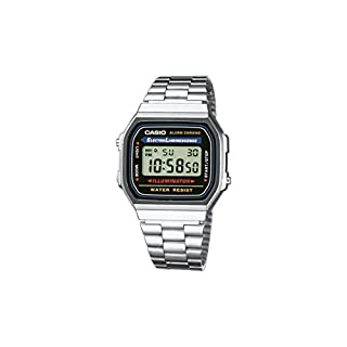 casio A168WA-1YES (B00B7N3UCE) | Amazon price tracker / tracking, Amazon price history charts, Amazon price watches, Amazon price drop alerts