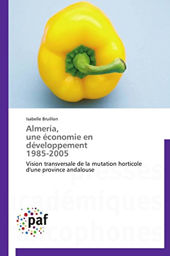 Almería, une économie en développement 1985-2005