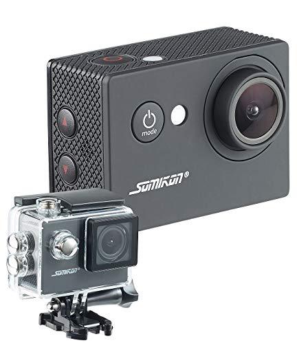 Somikon Action Kamera HD 720p: HD-Action-Cam DV-1212 mit 720p-Auflösung, Unterwasser-Gehäuse, IP68 (Kompaktkamera)