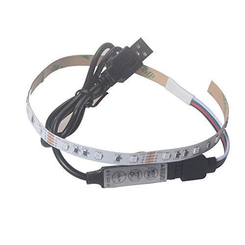 Preisvergleich Produktbild Prevently LED Strip,  Lichterkette,  LED-Streifen Band Licht Buntes 5V 2835 18SMD / 30CM RGB LED Leiste Lichtleiste TV Back Beleuchtung Kit für Weihnachten