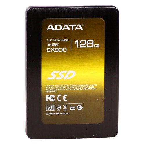 ADATA ASX900S3-128GM-C XPG SX900 interne SSD 128GB (6,4 cm (2,5 Zoll), SATA, 6GB/s) schwarz