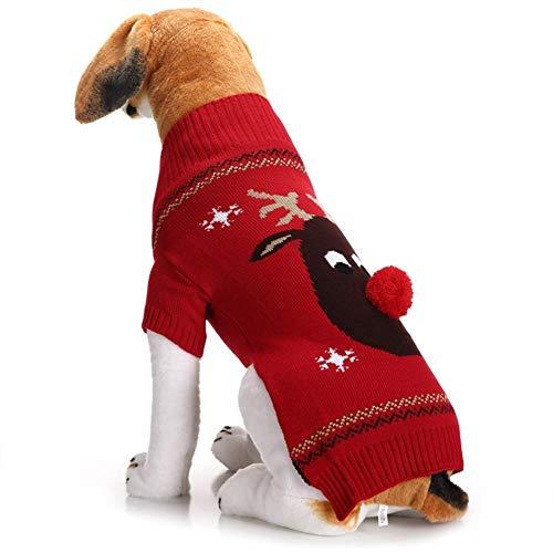 Snow Island Winterpullover für Hunde und Katzen, Schneeinsel, ()