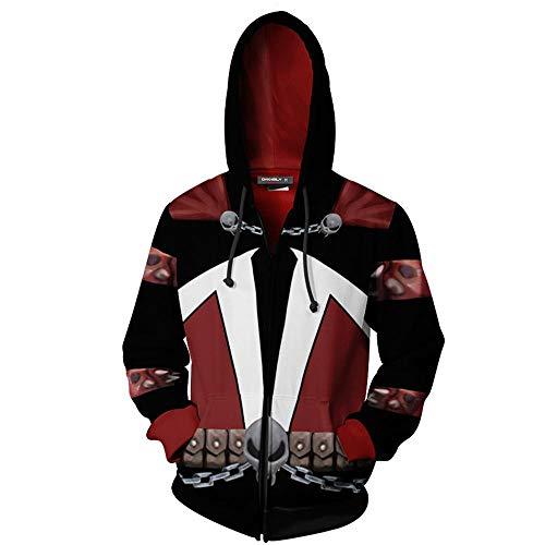 Herren Fitness Hoodie Superheld Sweatshirt 3D Digitaldruck Comic Movie Hoodie Cosplay Marvel -5XL