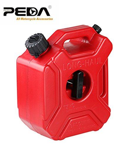 PEDA 3L carburante serbatoio di riserva di plastica a benzina Serbatoi Monte Moto / Auto gas può Benzina olio combustibile contenitore-brocche