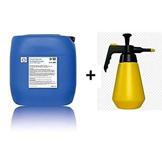 Terma Spezial Alu Felgenreiniger Konzentrat 1:1 bis 1:10 (ergeben 10-50 Liter Felgenreiniger) + Pumpsprühflasche, Säurehaltiges Konzentrat für Starke Verschmutzungen (5 Liter)