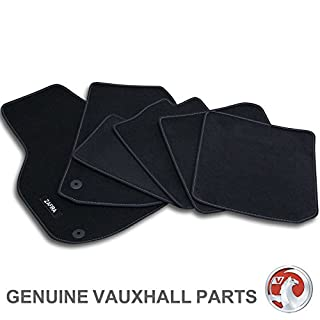 Genuine Vauxhall Rhd Zafira B Mk2 Car Floor Mats - Velour Carpet - Set Of 4
