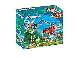 PLAYMOBIL Dinos Helicóptero con Pterosaurio, a Partir de 4 Años (9430)