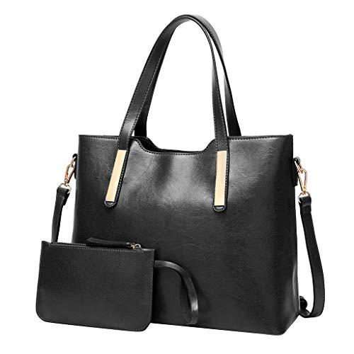 Amuster donna alla moda portafoglio a forma di borsa in tinta unita