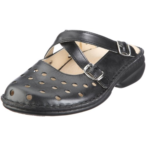 Hans Herrmann Collection Parma 026808-10, Chaussures femme Schwarz/Nero